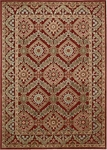 Nourison Graphic Illusions GIL24 RED Red Closeout Area Rug