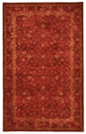 Trans-Ocean Goa 8262/24 Amirta Red Closeout Area Rug