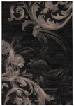 Michael Amini Gotham GOT05 BLKGY Closeout Area Rug