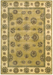 Nourison Golden Saga GS09 GLD Gold Closeout Area Rug