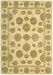 Nourison Golden Saga GS09 IVI Ivory/Ivory Closeout Area Rug