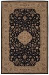 Designer Series DS04O108 Black Golden Heritage Rug