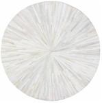 Designer Series 17008 Eli Hairhide Ivory Rug