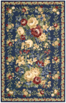 Nourison Country Heritage H303 BL Blue Closeout Area Rug