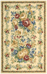 Nourison Country Heritage H303 YEL Yellow Closeout Area Rug