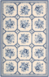 Nourison Country Heritage H307 IVB Ivory/Blue Closeout Area Rug