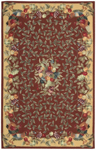 Nourison Country Heritage H358 BRK Brick Closeout Area Rug