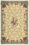 Nourison Country Heritage H358 YEL Yellow Closeout Area Rug
