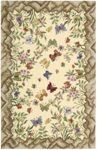 Nourison Country Heritage H564 YEL Yellow Closeout Area Rug