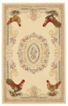 Nourison Country Heritage H691 GLD Gold Closeout Area Rug