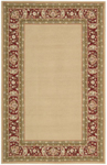 Nourison Country Heritage H801 GLD Gold Closeout Area Rug