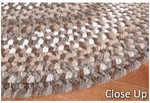 Surya Country Living Huntington Braids HNT-4501 Chocolate/Brown Closeout Area Rug - Spring 2012