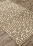 Jaipur Hollis HOL05 Etna Vetiver & Silver Green Closeout Area Rug