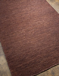 Jaipur Hula HU03 Hula Cocoa Brown/Cocoa Brown Closeout Area Rug