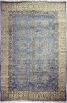 Bashian Vintage I123 HSA116 Light Blue Closeout Area Rug