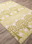 Jaipur Iconic IBP01 Trees Birch & Moss Closeout Area Rug
