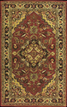 Nourison India House IH02 RUS Rust Closeout Area Rug