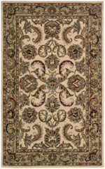 Nourison India House IH47 IGD Ivory/Gold Closeout Area Rug