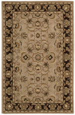 Nourison India House IH71 TAU Taupe Closeout Area Rug