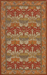 Nourison India House IH86 BGE Beige Closeout Area Rug