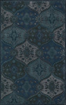 Nourison India House IH88 DEN Denim Closeout Area Rug