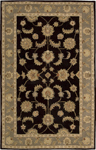 Nourison India House IH90 BLK Black Closeout Area Rug