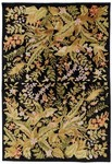 Surya Mugal IN-1484 Black Closeout Area Rug