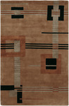 Surya Mugal IN-8035 Brown Sugar/Russet/Jet Black Closeout Area Rug - Fall 2012