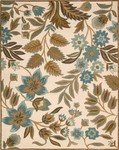 Nourison In Bloom INB01 IV Ivory Closeout Area Rug