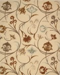 Nourison In Bloom INB09 BGE Beige Closeout Area Rug