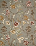 Nourison In Bloom INB09 SMOKE Smoke Closeout Area Rug