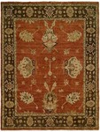 Allara Harmony HA-1002 Rust/Brown Area Rug