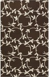 Surya Country Living Inspired Classics INS-8003 Chocolate/Ivory Closeout Area Rug - Fall 2012
