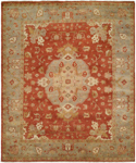 Kalaty Ismir IS-762 Rust/Blue Closeout Area Rug