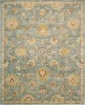 Nourison Jaipur JA53 LTB Light Blue Closeout Area Rug