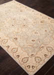 Jaipur Inspired JAI19 Antique Sky Gray & Silver Green Closeout Area Rug