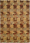 Allara Jagraon AG-1003 Multi Earth Tones Closeout Area Rug