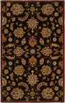 HRI Pars Kashan K-2681 Chocolate Closeout Area Rug