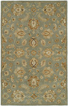 HRI Pars Kashan K-2699 Light Blue Closeout Area Rug