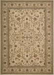 Kathy Ireland Lumiere KI600 BGE Royal Countryside Beige Area Rug