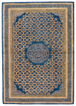 Jaipur Kilan KIL10 Carrara Midnight Navy & Total Eclipse Closeout Area Rug