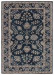 Jaipur Kilan KIL11 Sundamar Midnight Navy & Lead Closeout Area Rug