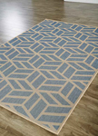 Jaipur Knox KNX02 Everet Copen Blue & Marzipan Area Rug