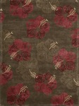Nourison Lakeside LAK02 CHORD Chocolate/Red Closeout Area Rug