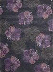 Nourison Lakeside LAK02 INKPL Ink/Purple Closeout Area Rug