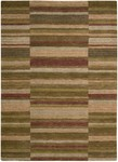 Liz Claiborne Home Landscape Stripes LC08 BRN Brown Closeout Area Rug