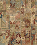 Nourison Legend LD05 MTC Multi Closeout Area Rug