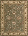 Nourison Living Treasures LI04 GRE Green Area Rug