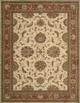 Nourison Living Treasures LI04 IRD Ivory/Red Area Rug