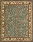 Nourison Living Treasures LI05 AQU Aqua Area Rug